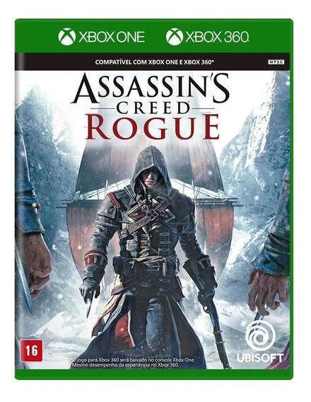 Assassins Creed Rogue Xbox 360 Mídia Física Novo Lacrado