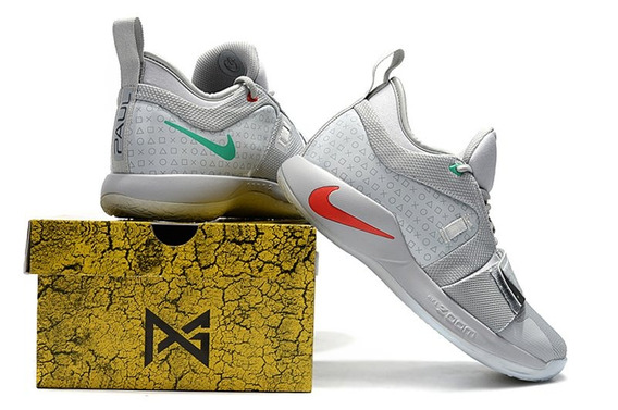 Tênis Nike Pg 2.5 Playstation Wolf Grey Sneakers Tam 42- De R$1799 Por