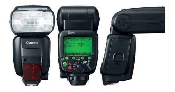 Flash Canon Speedlite 600ex Rt
