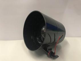 Sirene Alarme E Cerca Eletrica Monotonal Residencial 12v