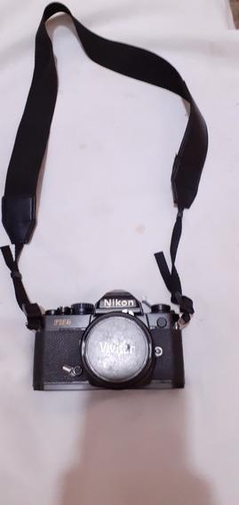 Câmera Analogica Profissional Nikon Fm2