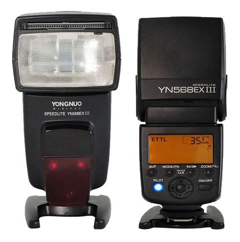 Flash Yongnuo 568 Ex Iii Para Nikon Ttl Gtia Fact