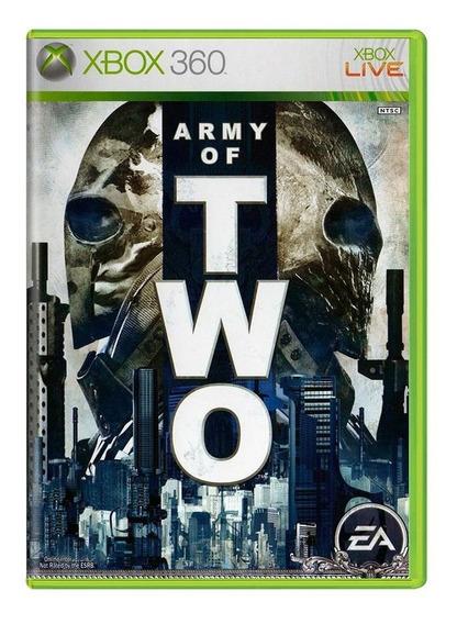 Jogo Army Of Two - Xbox 360 Mídia Física Usado