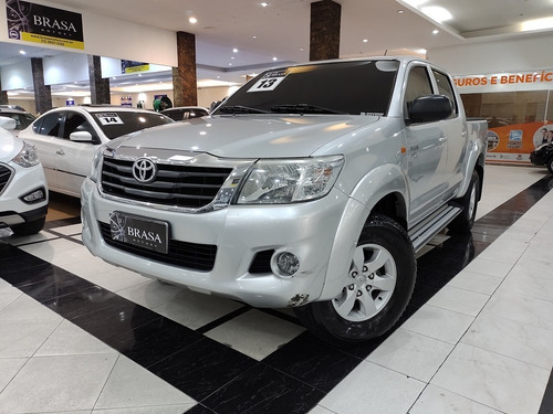 Imagem 1 de 14 de Toyota Hilux Sr 2.7 4x2 16v Cd Flex 4p Automática C/ Couro
