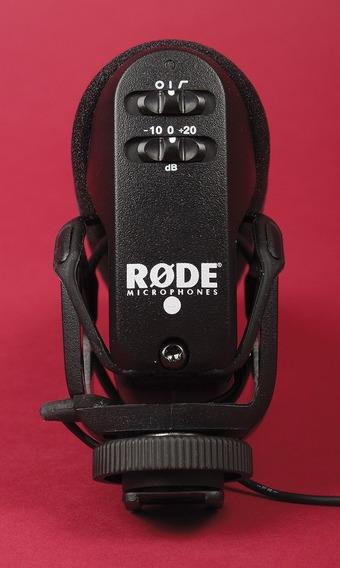 Dsrl Microfone Rode Videomic Pro, Canon, Sony, Nikon,shotgun