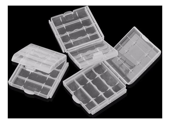 10 Cases Porta Pilhas Aa/ Aaa Case