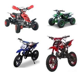 Motos Cross Y Cuadrones Para Ninos 50cc Gasolina Importados