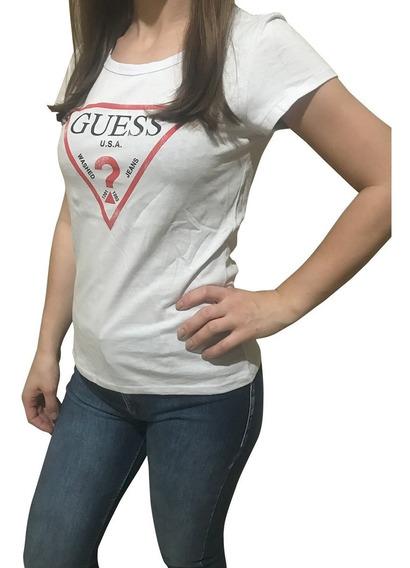 Camiseta Blusa Guess Feminina + Cores E Tamanhos