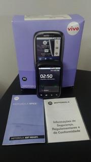 Celular Motorola Spice Xt 300 Preto