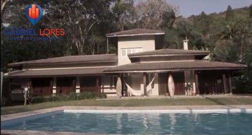 Imagem 1 de 15 de Casa 5 Quartos - Sensacional - Tabatinga - Ubatuba - 1268