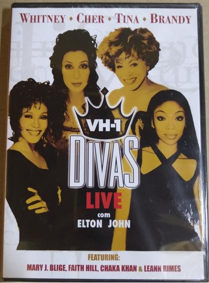 Dvd Divas Live Com Elton John