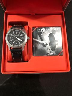 Reloj Hamilton Khaki Quartz H684811 Impecable Caballito