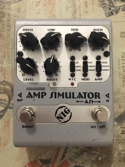 Pedal Nig As1 Amp Simulator