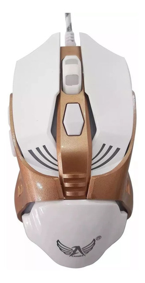 Mouse Gamer Barato C/ Fio Led 6 Botoes Usb