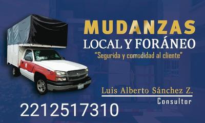Servicio De Mudanza Local Y Foráneo
