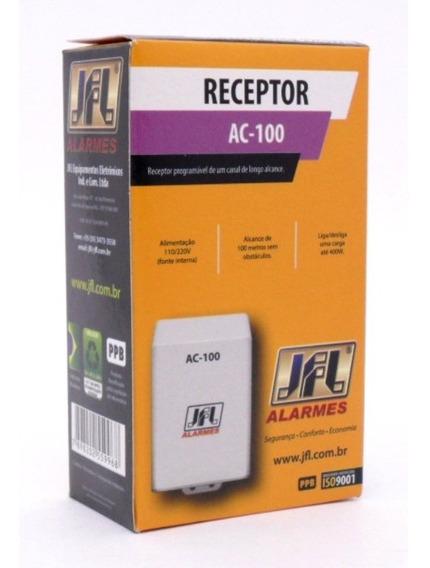 Receptor Acionador De Lampada Por Controle Remoto Ac100 Jfl