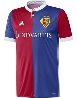 Camisa adidas Basel 2017/18 - Tamanho M