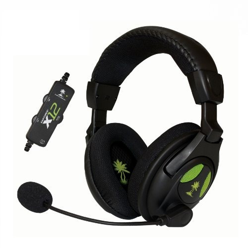 Turtle Beach - Auriculares Estéreo Para Juegos Ear Force X12