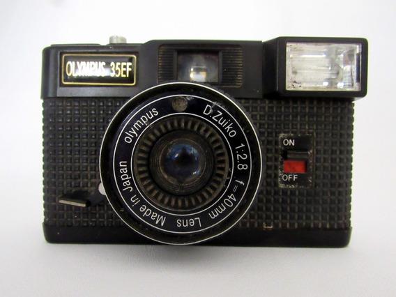 Antiguidade Máquina Câmera Fotográfica Olympus 35 Ef