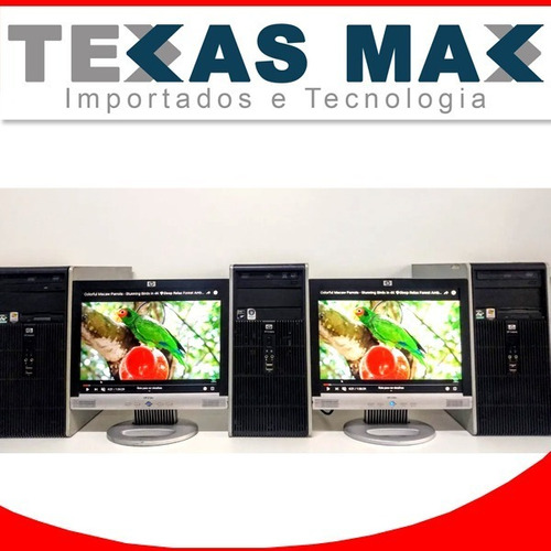 Imagem 1 de 5 de Desktop Hp I5+ Monitor De 17+ Mouse E Teclado