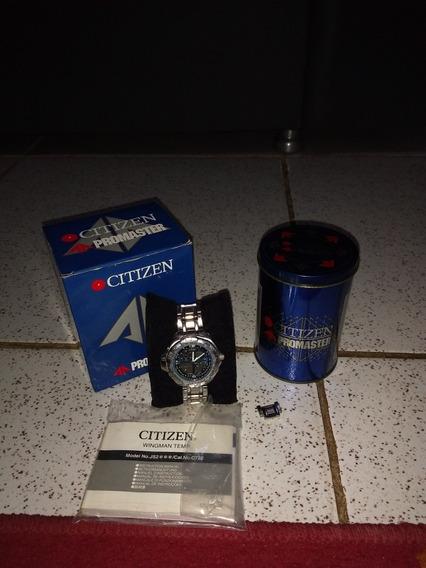 Relógio Citizen Promaster Temperatura