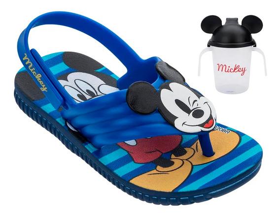 Sandália Infantil Disney Grendene Kids Mickey Copinho