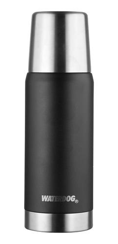 Imagen 1 de 2 de Termo Waterdog OBUS de acero inoxidable 0.75L black