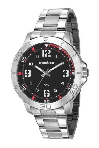 Relógio Mondaine Masculino Analógico Prata 99350g0mvne3