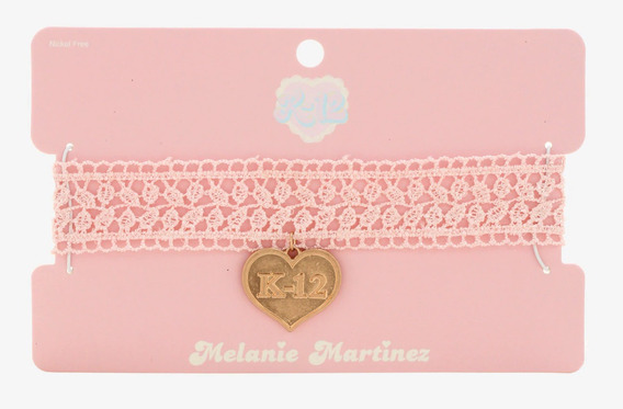 Collar Melanie Martinez Cantante K12 Music Original Hottopic