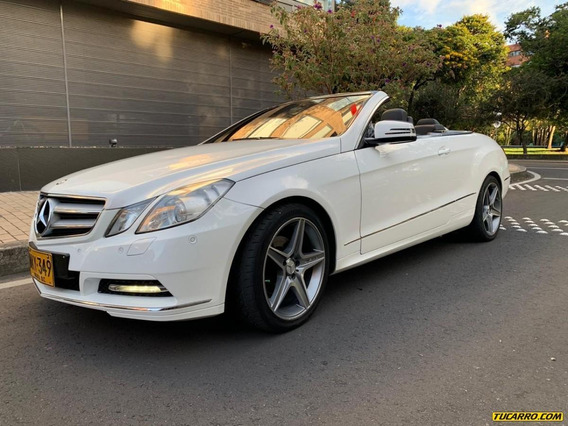 Mercedes Benz Clase E E200 Cabriolet 2.0 At
