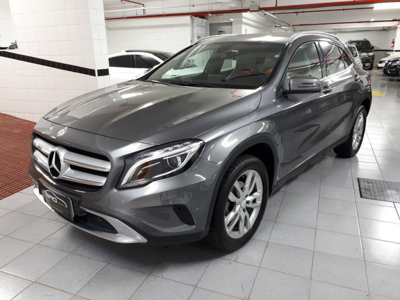 Mercedes Benz Gla 200 Advance Turbo Flex 2016 Cinza 15mil Km