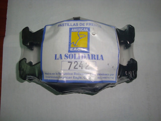Juego Pastillas Fiat Palio Siena Motor 13-1.4 / Vw Gol Larga