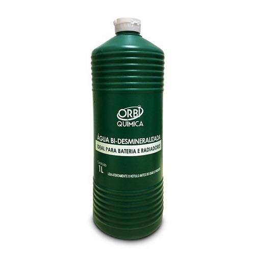 Agua Desmineralizada Incolor Radiador E Bateria Orbi 1 Litro