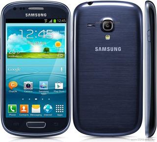 Samsung Galaxy S3 Mini Azul Libre De Fabrica