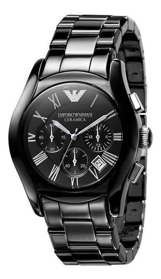 Relógio Armani Ar1400 Cerâmica Preto