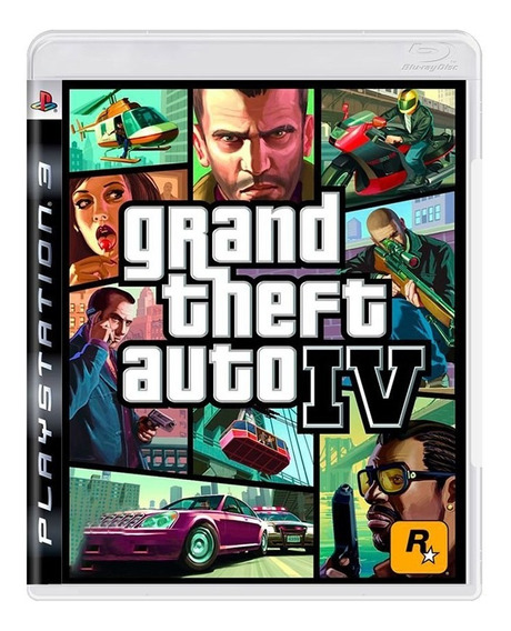 Jogo Grand Theft Auto Iv - Gta 4 - Ps3 - Original - Usado