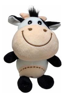 Vaca Bebe De Peluche Suave Y Linda