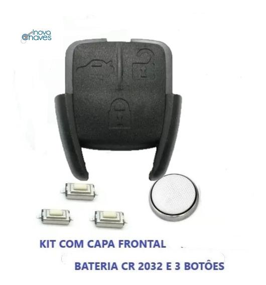 Capa Frontal Gm Vectra Astra Com Botões E Bateria
