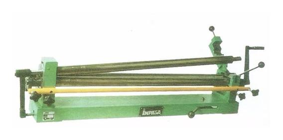 Roladora De Lamina Cal. 18 A 28. Con Pedestal. Marca Inpasa