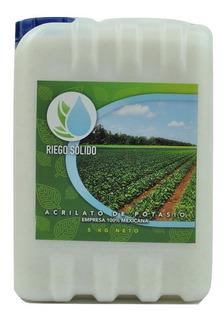 Lluvia Solida-poliacrilato-acrilato De Potasio- 5kg