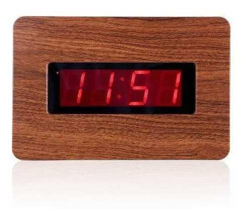 Reloj Digital De Pared Kwanwa Con Números Grandes De Led Roj