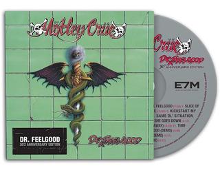 Motley Crue Dr Feelgood 30th Cd Import Nuevo Original