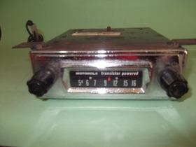 Rádio Automotivo Antigo Marca Motorola Rm 21 J