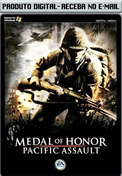 Medal Of Honor Pacific Assault - Pc - Envio Digital