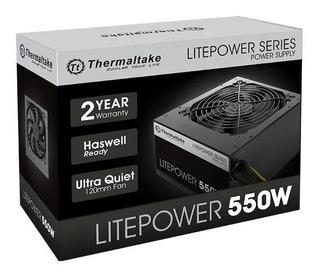 Fuente Pc Gamer Thermaltake Litepower 550w Cooler 120mm Box