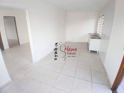 Imagem 1 de 11 de Casa Com 1 Dormitório Para Alugar, 60 M² Por R$ 1.200,00/mês - Jaraguá - São Paulo/sp - Ca1280