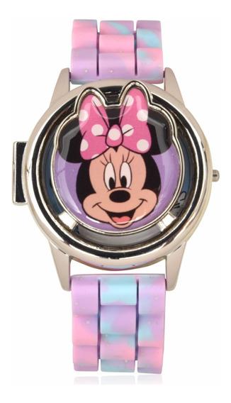 Reloj Minnie Mouse Spinner Digital Original