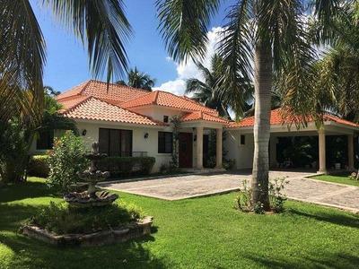 Hermosa Villa 3hab En Metro Country Club En Juan Dolio