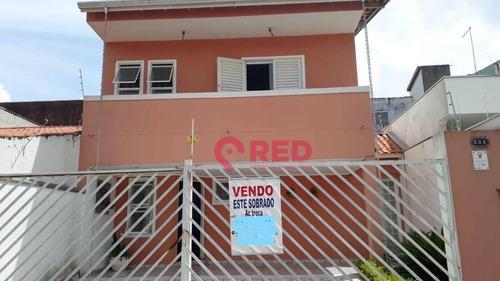 Sobrado Com 3 Dormitórios À Venda, 195 M² Por R$ 420.000,00 - Jardim Wanel Ville Iv - Sorocaba/sp - So0016