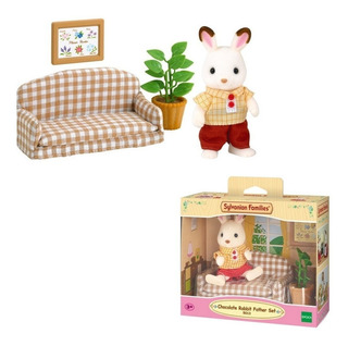 Sylvanian Families Rabbit Father Set 5013 Intek Villa Devoto
